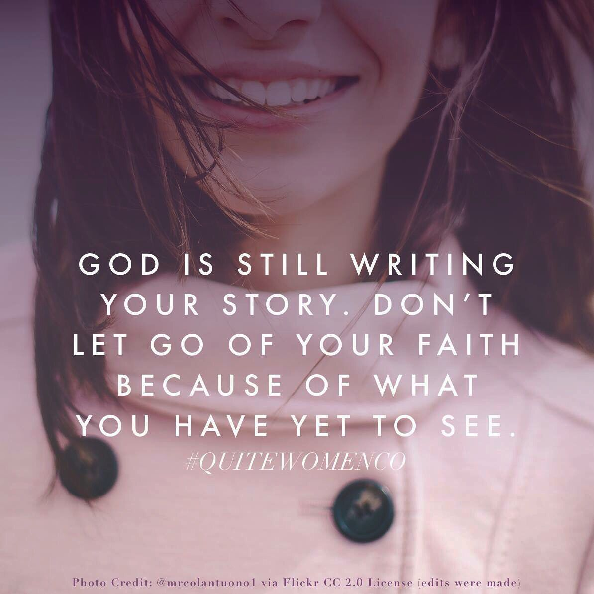 Inspirational quote for Christian women // encouragement ...