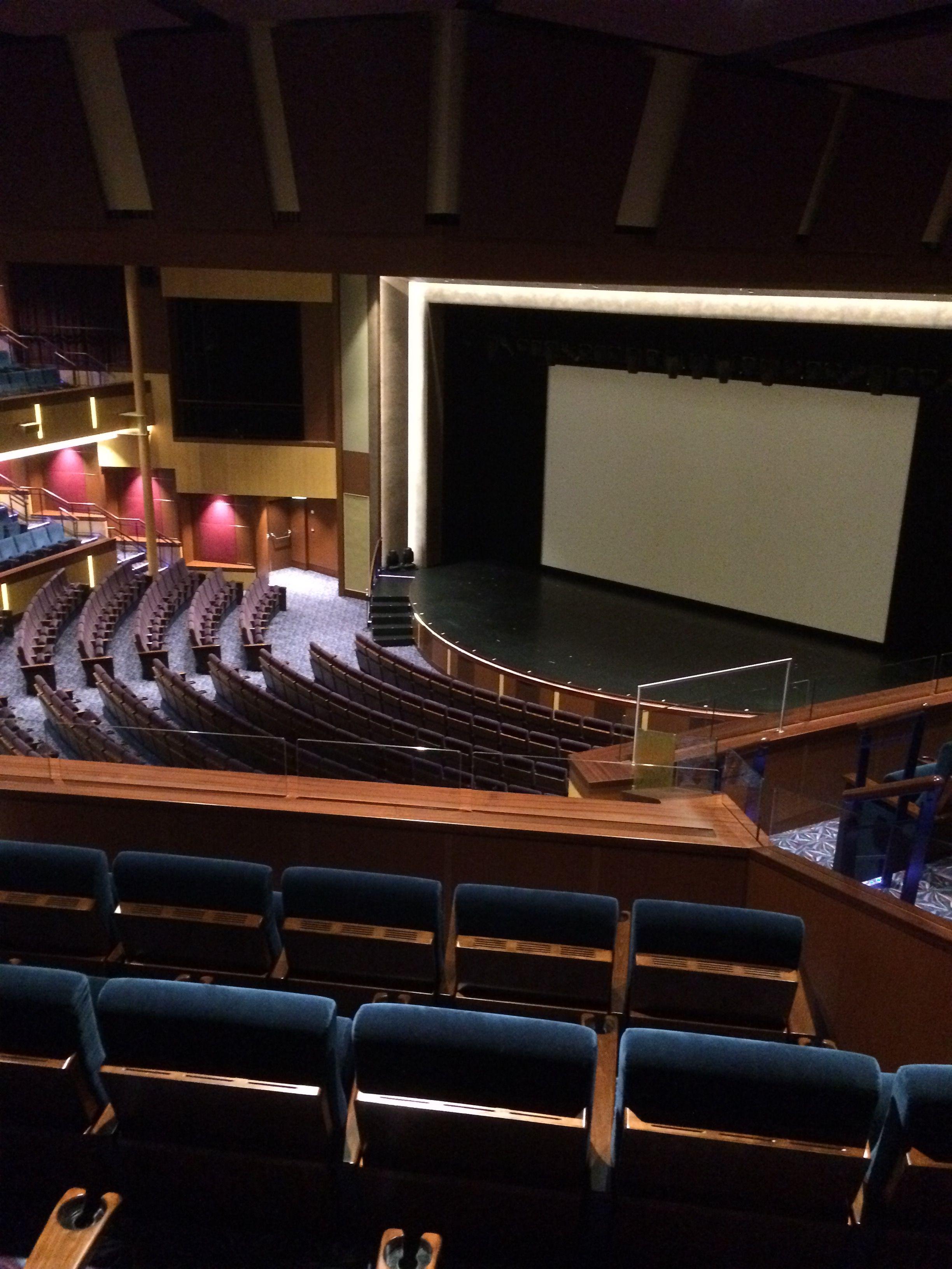 Ovation Of The Seas Theatre Symphony Of The Seas Royal Caribbean Caribbean