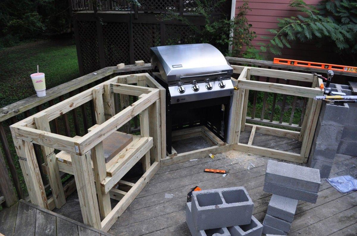 Diy Outdoor Kitchen Cabinets