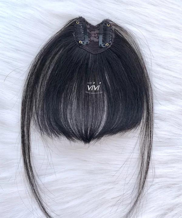 Wispy Clip In Bangs Human Hair V Shape Human Hair Hairstyles With Bangs V Shape Hair