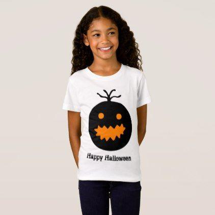 Cute Halloween Pumpkin T-Shirt - Halloween happyhalloween festival party holiday