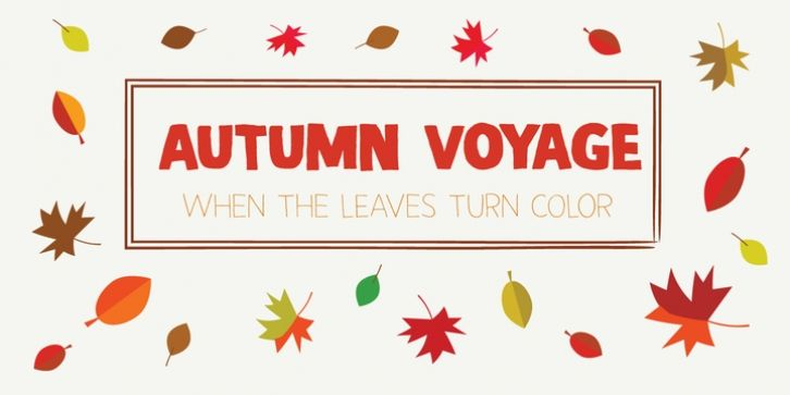 Autumn Voyage font download | Fonts | New fonts, Fonts, Font