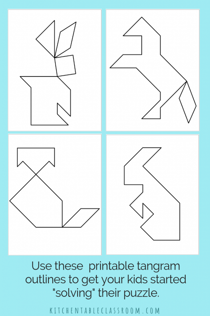 It's just a picture of Free Printable Tangram Puzzles within format