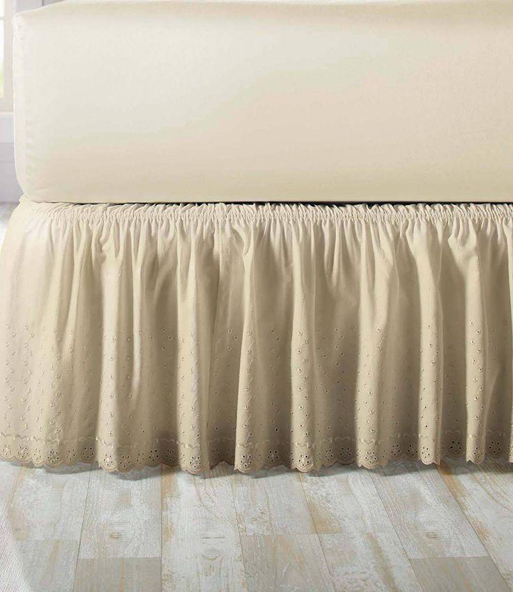 Better Homes Gardens Eyelet Adjustable Bed Skirt 1 Each
