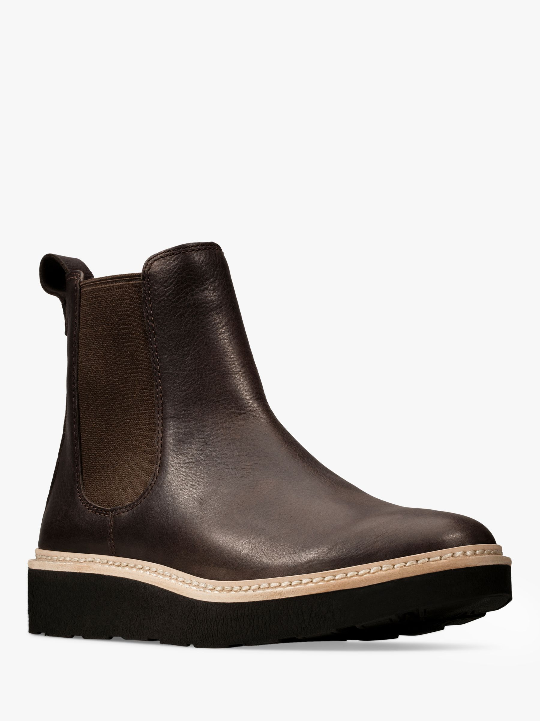 Details about New Clarks Womens Leather Ankle Biker Boots
