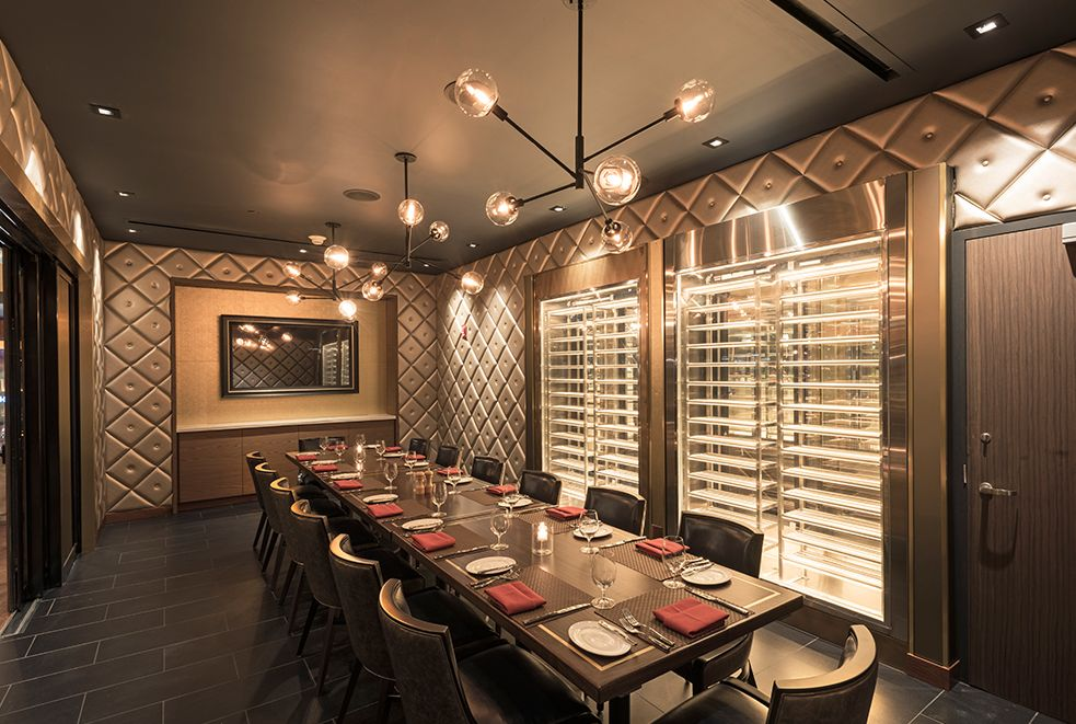 The Western Door Steakhouse ICRAVE Private dining room