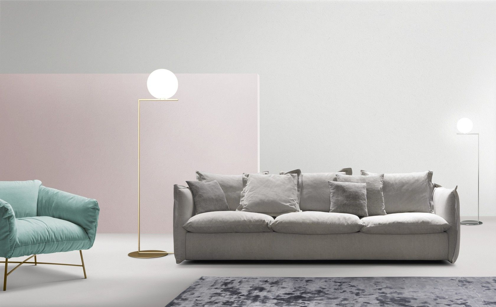 Sectional 3 Seater Fabric Sofa With Removable Cover Knit 3 Seater Sofa By My Home Collection With Images Sofa Home Collections Sofa Design