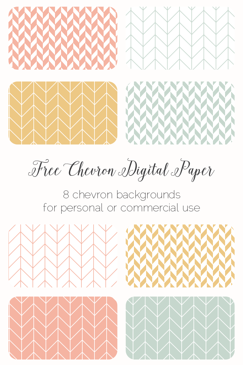 Sunday Freebie: 8 Chevron Backgrounds