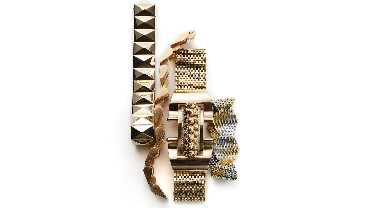 Pin by stin on womens jewelry pinterest k gold bracelet