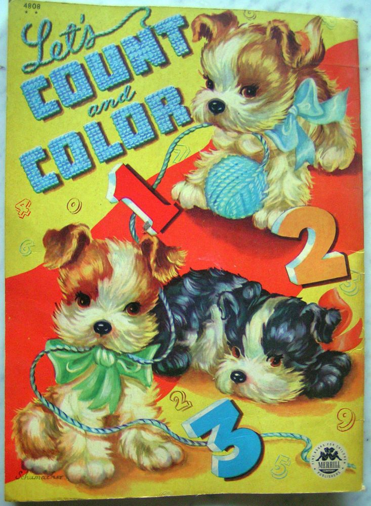 Count Color CHILD TOY BOOK
