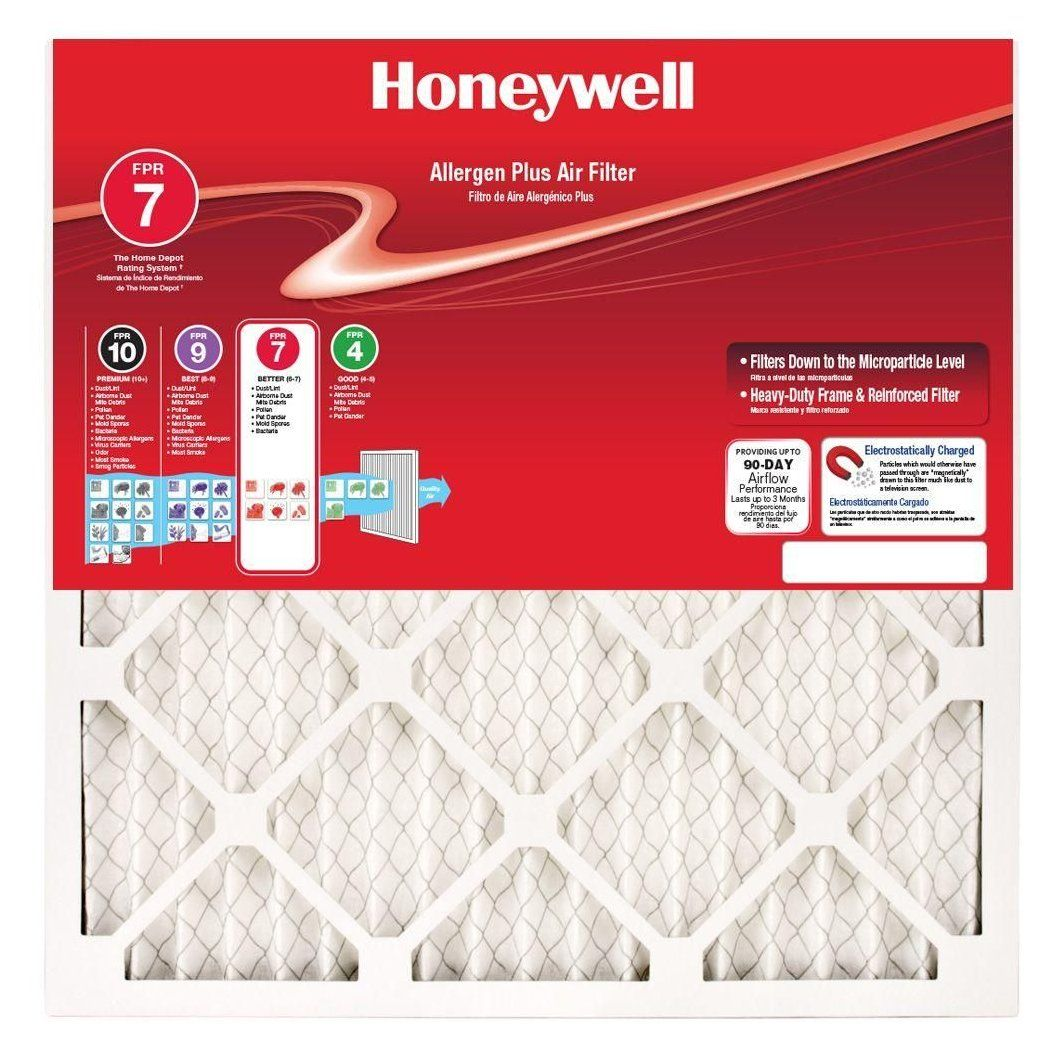 Honeywell 24 in. x 36 in. x 1 in. Allergen Plus Pleated