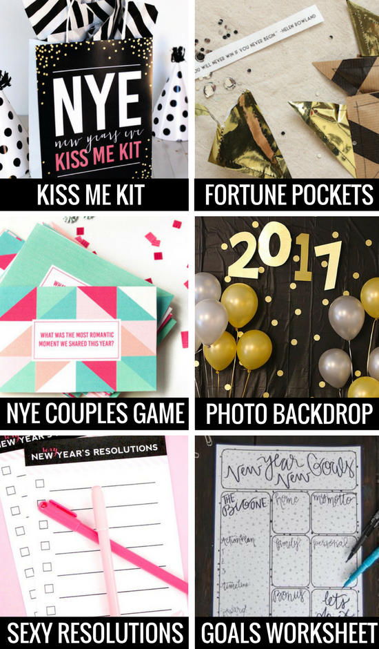New Year's Eve Ideas for Couples and Families Newyear