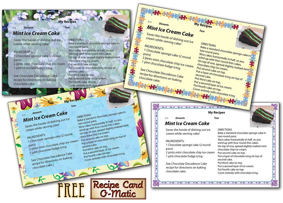Recipe cards hold a cherished place in Americau0027s family cooking - free recipe card templates for microsoft word