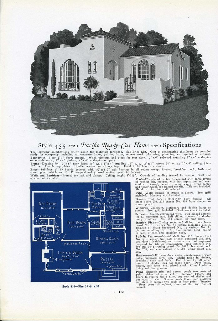 435 House Plans How To Plan Vintage House Plans