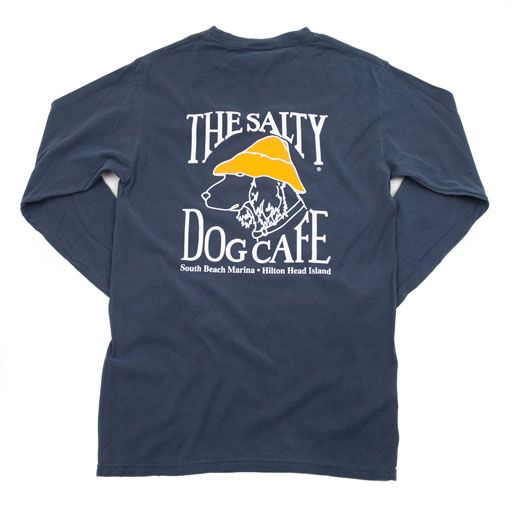 Dog Shirt With Images Comfort Colors Long Sleeve Cafe Shirt