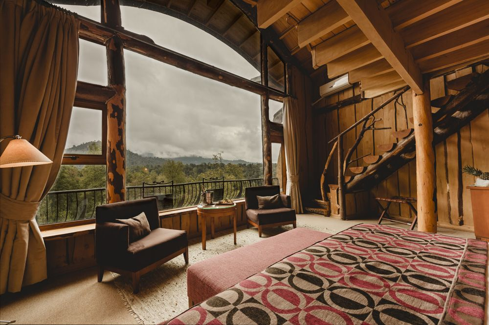 Nothofagus Hotel | Huilo Huilo Reserva Biológica – Patagonia Codillera de los Andes Chile