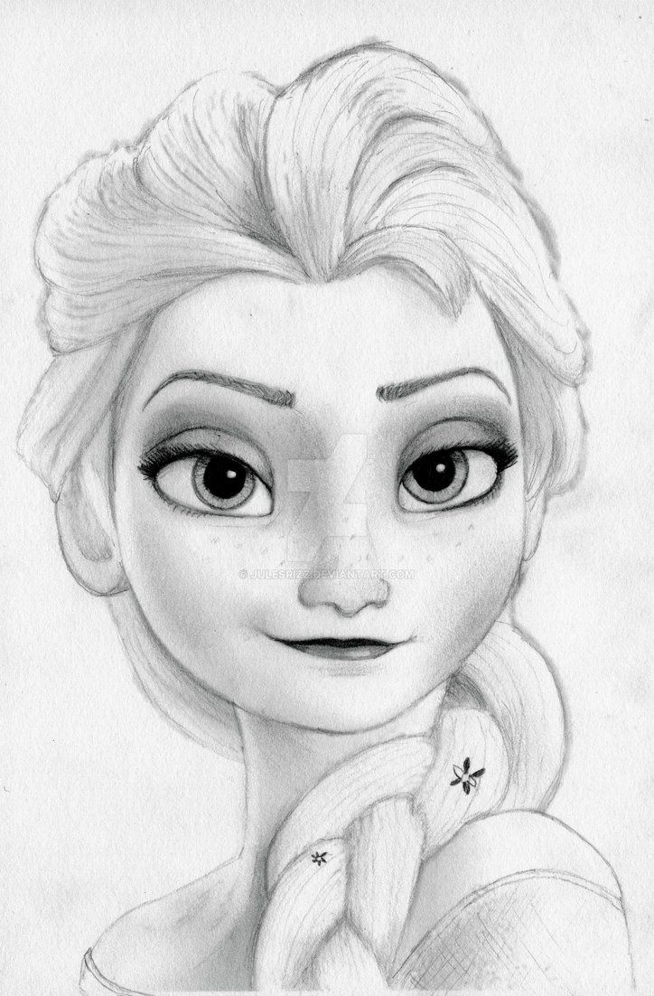 This is a quick sketch of queen elsa from disneys new movie frozen as voiced