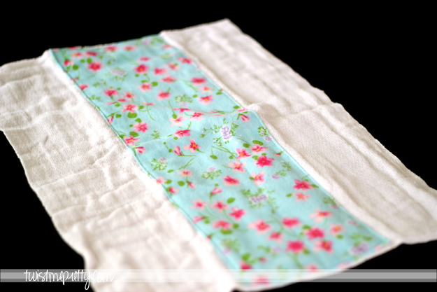 Burp Cloths made from Cloth Diapers - Twist Me Pretty