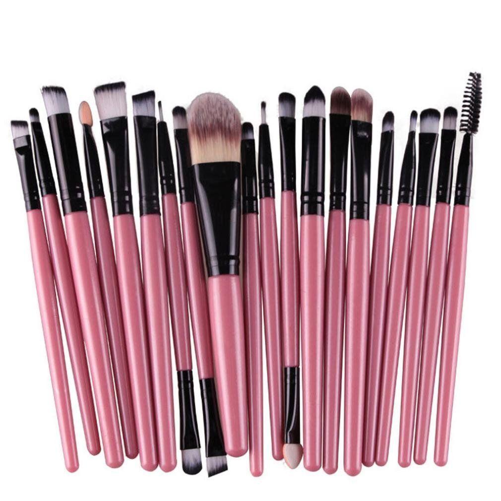 Malloom 20pcs/set Professional Makeup Brush Set tools Make
