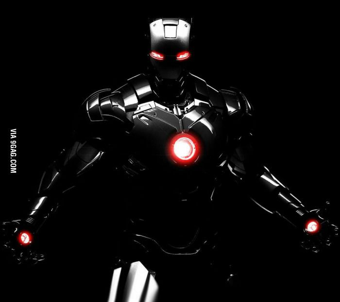 Nothing Is More Badass Than A Black Iron Man Suit Iron Man Wallpaper Iron Man Photos Iron Man