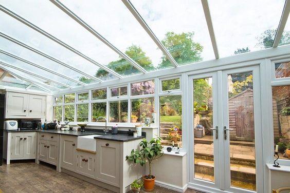 Conservatory Kitchen Ideas Conservatory Kitchen Sunroom