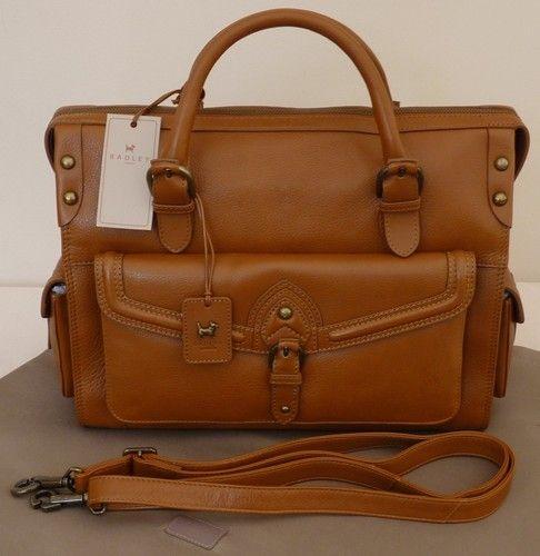 Radley Tan Large Multiway Bag Bnwt