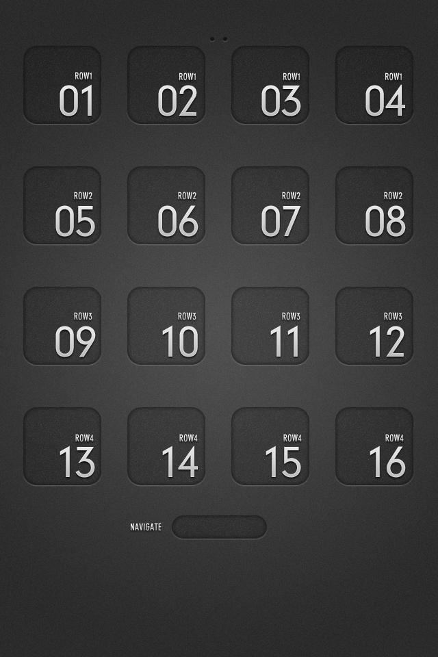 grid 1 Apple wallpaper iphone, Homescreen, Grid wallpaper