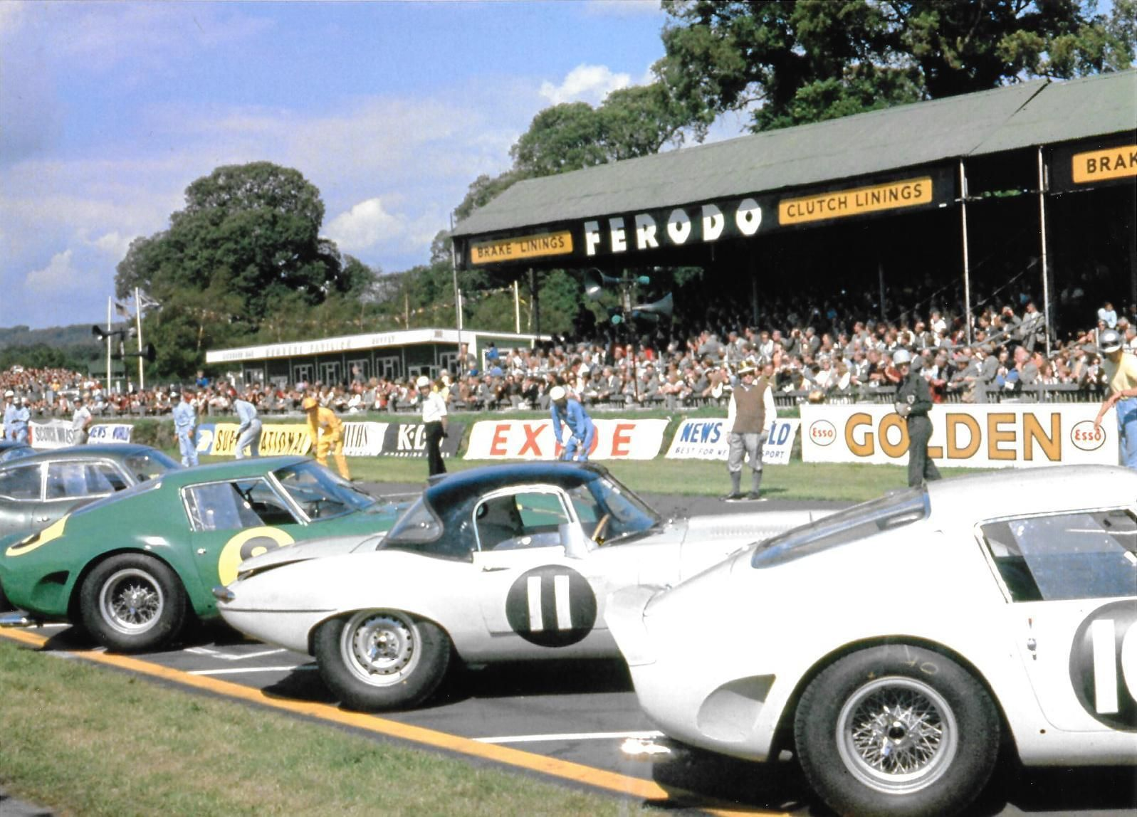 Roy Kent Old Racing Car