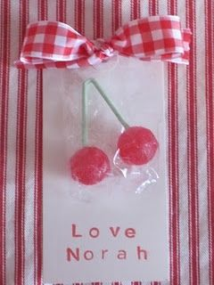 Cherry on Top Valentine  - How cute and easy is this!?