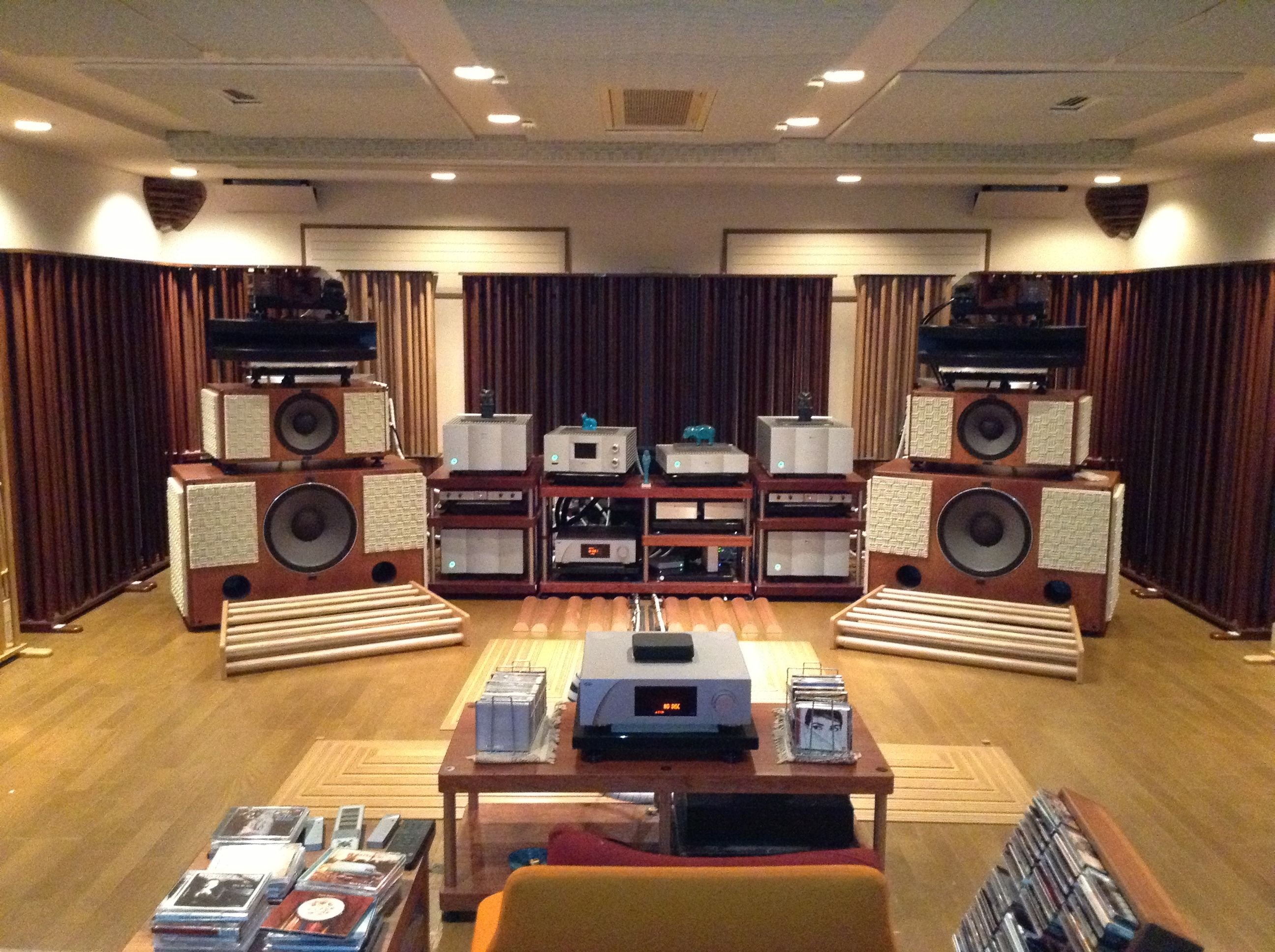 Listening Room (sohnosan  Tokyo)  Speakers  Pinterest. Ikea Dining Room. Personalized Decorative Pillows. Storage Boxes Cardboard Decorative. How To Decorate Console Table. Decorative Italian Wall Tiles. Natural Room Freshener. Dining Room Booth Style Seating. Wood Room Divider