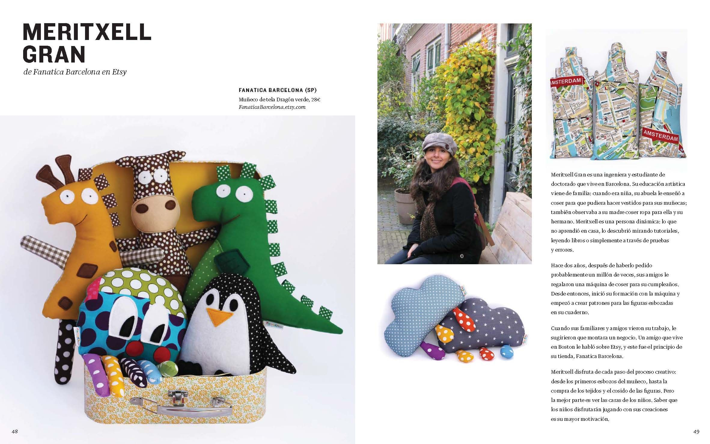Fanatica is the Kids Cover Section in the Etsy LookBook Spring ...