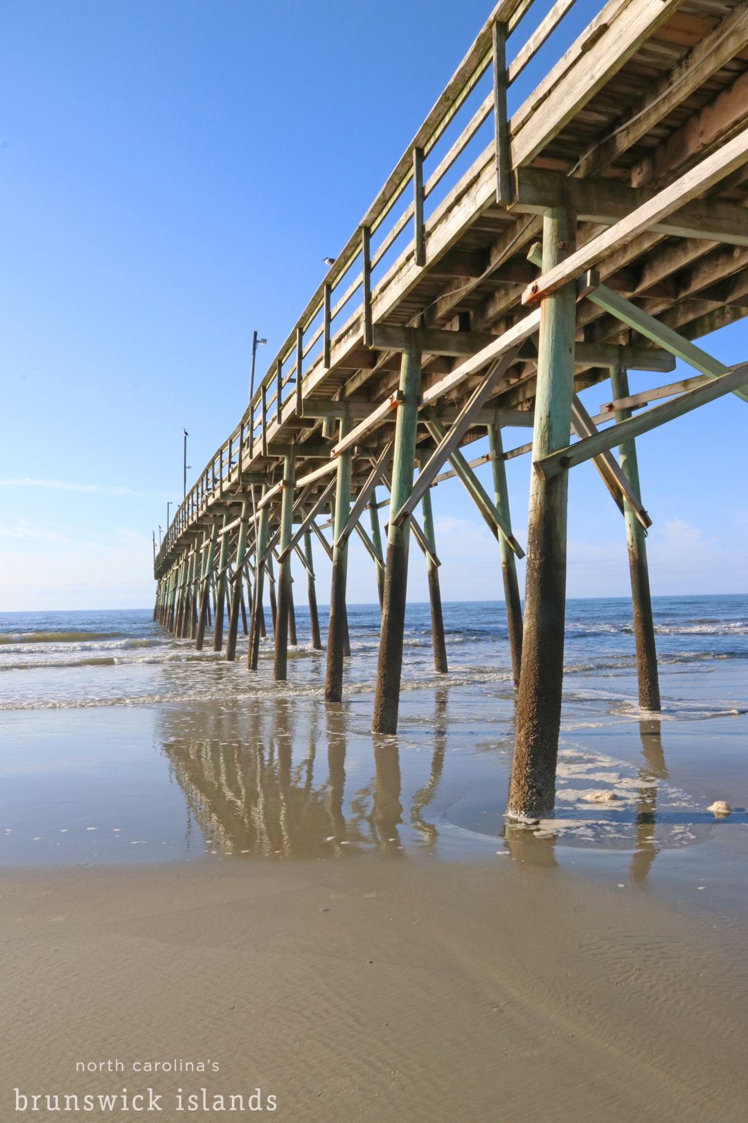 A Beautiful Day By The Sunset Beach Pier Beach Sunset Sunset Beach Nc Ocean Isle Beach