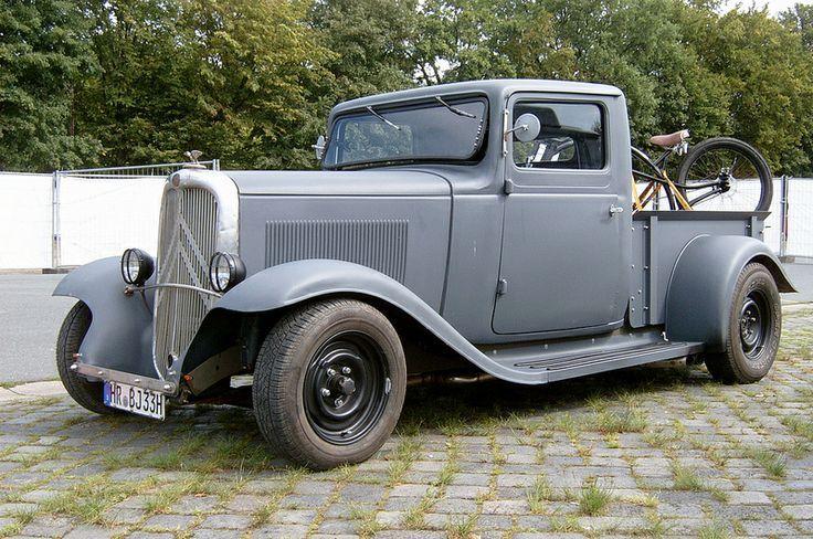 rosalie pick up recherche google citroen pickup pinterest vintage cars cars och trucks. Black Bedroom Furniture Sets. Home Design Ideas
