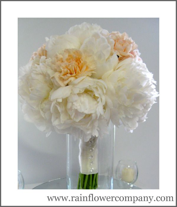 My favorite flower- Peony. These were the main flower used for my ...