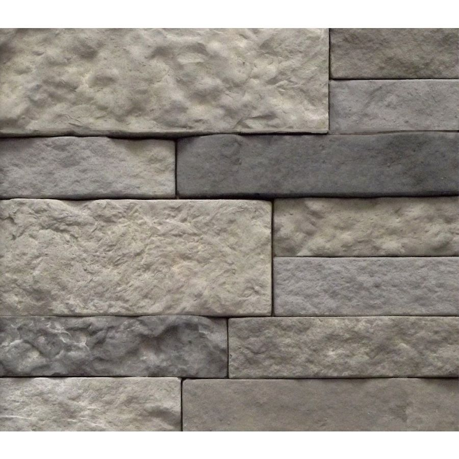Shop AirStone Spring Creek Concrete Stone Veneer at Lowes.com ...