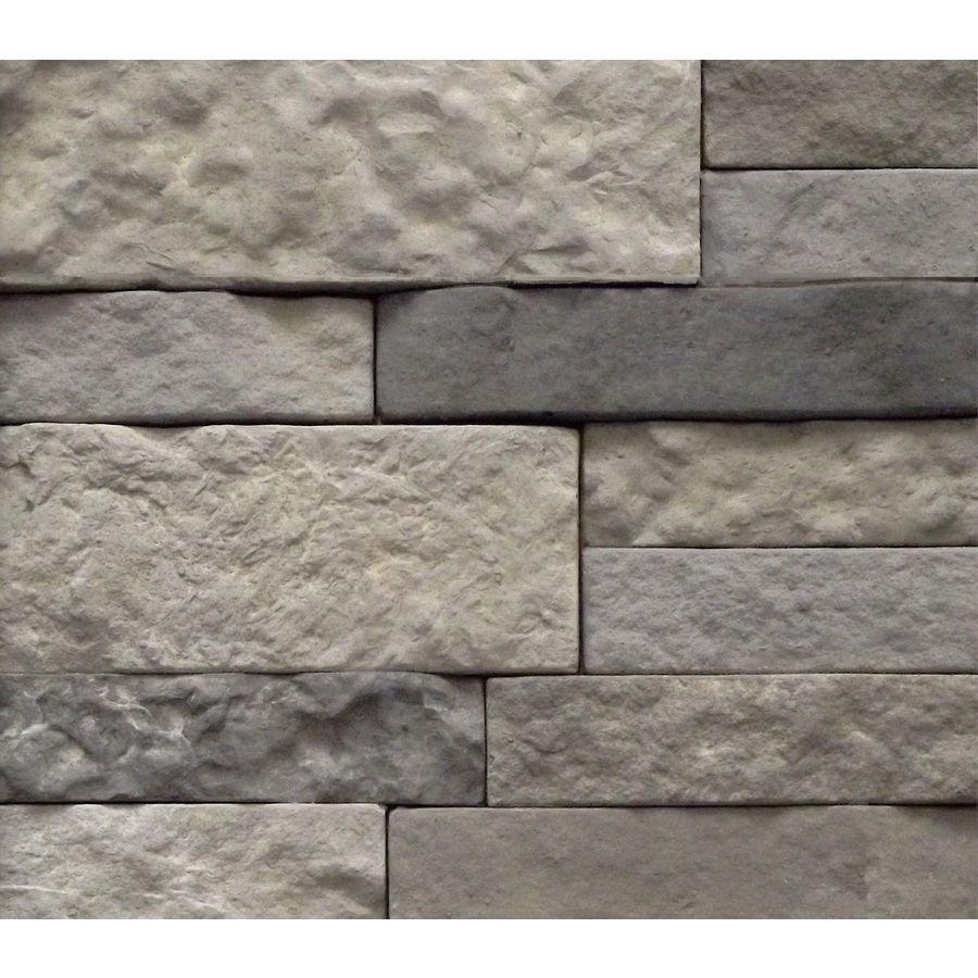 Shop Airstone Spring Creek Concrete Stone Veneer At Lowes