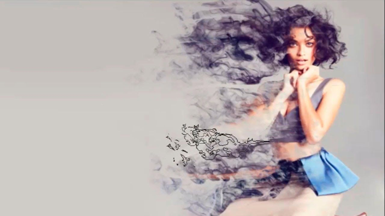 Photoshop CS6 Tutorial Efecto de Dispersion de Humo | PSD ...