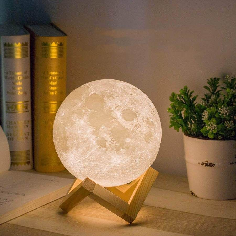 50 Off Luna Moon Night Light Led Lamp Free Worldwide Shipping Sale Ends Soon Only Sold At Cozydecorshop Com Moon Light Lamp Moon Nightlight Night Light