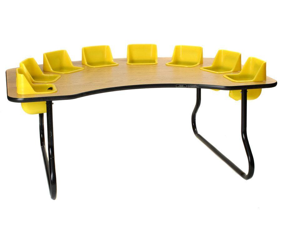 Kid S 9 Piece Novelty Activity Table Chair Set Chaise Decoration Creche