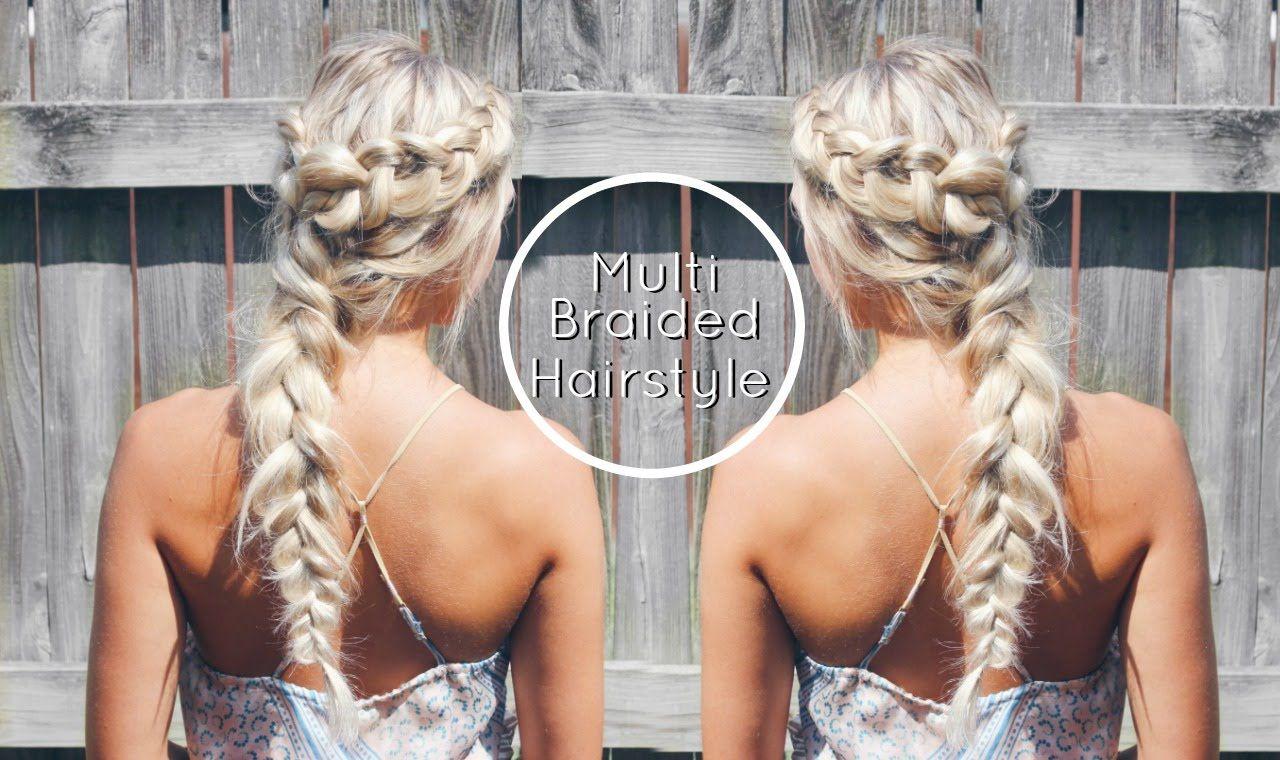 Triple Dutch Braided Hairstyle