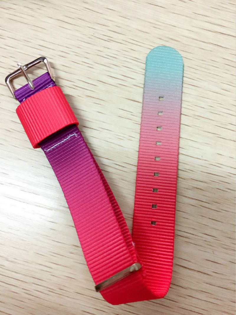 >> Click to Buy << 20mm Latest Fashion Cool Color Nylon belt Watch Band strap Pin mental buckle Casual Women Charged soft Comfortable Rose Clasp #Affiliate