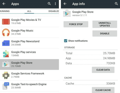 How To Solve Download Pending Status Issue On Google Play Store The Tech Journal Google Play Store Google Play Google Play Apps