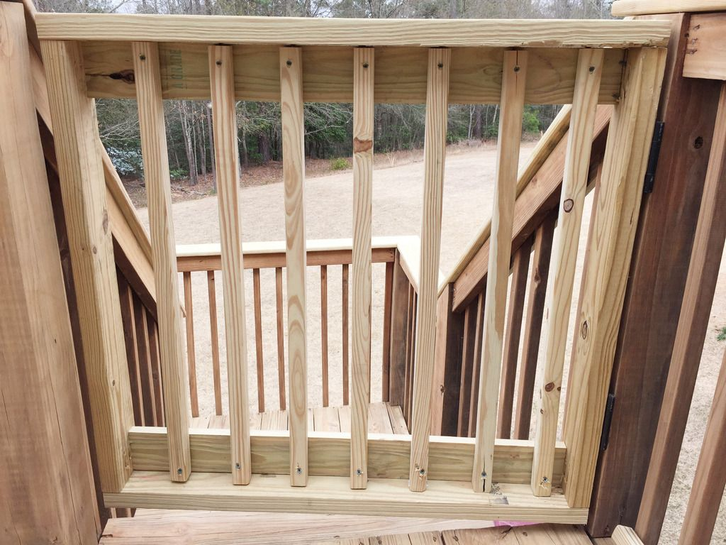 Baby Gate Building Diy Projects Porch Gate Deck Gate