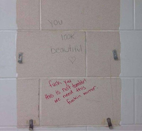 funniest bathroom wall graffiti 28 photos