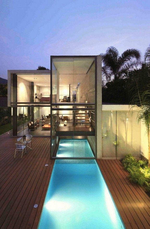 house in la planicie by doblado arquitectos. privacy is so 1998 ...
