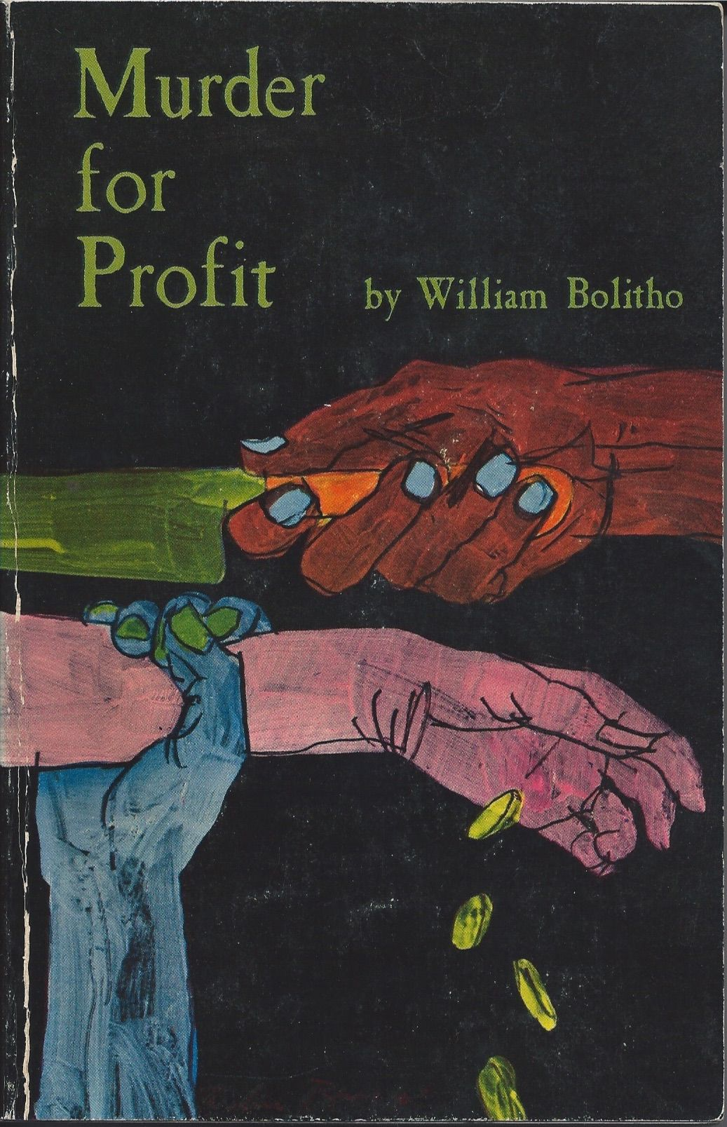 Murder for Profit, William Bolitho. Time Reading Program Special Edition, 1962.