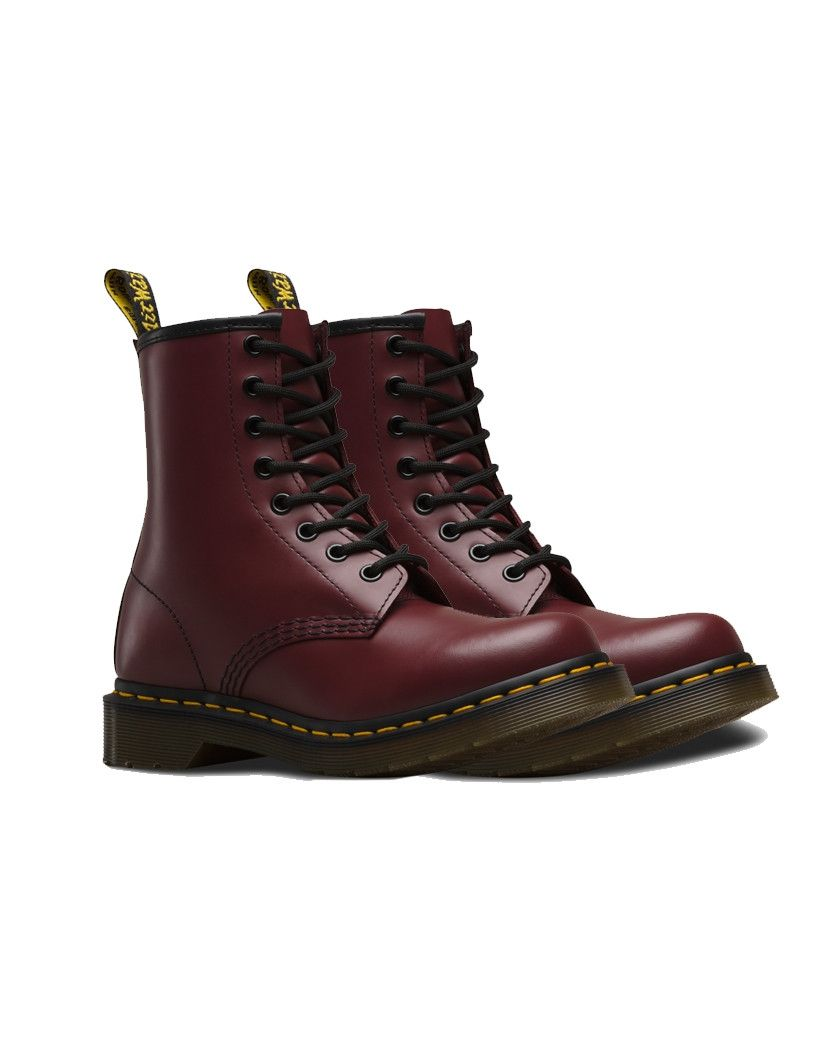 Dr. Martens 1460 PASCAL ZIP 8 EYE BOOT - Lace-up boots - tan grizzly 4f1fAsdBvE