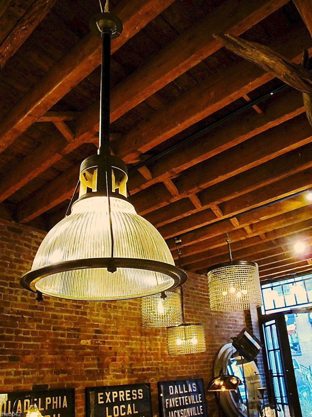 Vintage Industrial Loft Exposed Blub Mini Pendant 1 Light