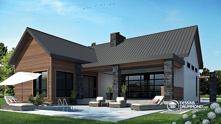 Détail du plan de Maison unifamiliale W3992 Home  Decoration