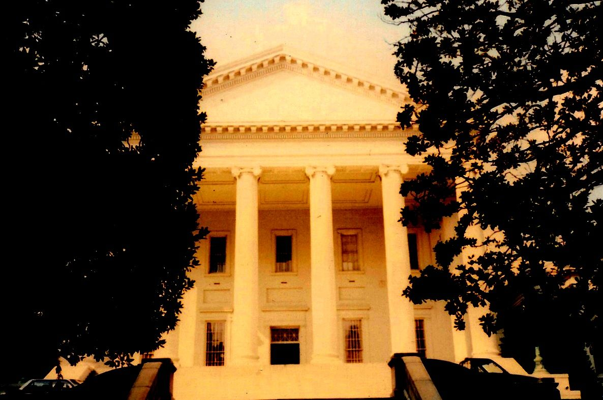 Virginia State Capitol At Richmond